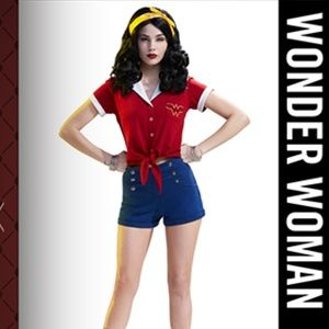 DC Bombshells Wonder Woman Shirt